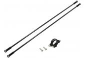 Blade 230 S - Aluminiowe mocowanie podpór ogonowych z podporami czarne RKH