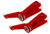 Blade 230 S - Aluminiowe okucia główne czerwone RKH