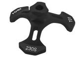 Blade 230 S - Leveler tarczy czarny RKH