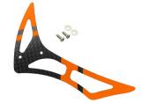 Blade 230 S - Karbonowy statecznik pionowy pomarańczowo-czarny RKH
