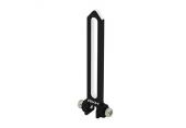 Blade 230 S - Aluminiowa prowadnica tarczy czarna RKH