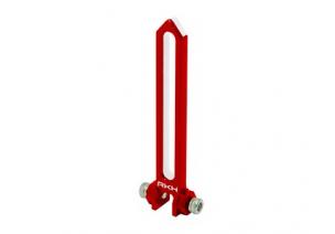 Blade 230 S V2 / 230 S - Aluminiowa prowadnica tarczy czerwona RKH
