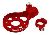 Blade 230 S - Aluminiowe mocowanie silnika ogonowego czerwone RKH