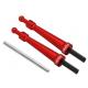 Blade 230 S - Aluminiowe mocowanie kabiny czerwone RKH