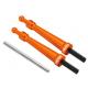 Blade 230 S - Aluminiowe mocowanie kabiny pomarańczowe RKH
