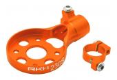 Blade 230 S - Aluminiowe mocowanie silnika ogonowego pomarańczowe RKH