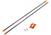 Blade 230 S - Mocowanie podpór ogonowych z podporami pomarańczowe RKH