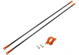 Blade 230 S V2 / 230 S - Mocowanie podpór ogonowych z podporami pomarańczowe RKH