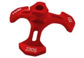 Blade 230 S - Leveler tarczy czerwony RKH