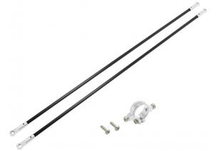 Blade 230 S V2 / 230 S - Mocowanie podpór ogonowych z podporami srebrne RKH