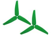 Blade 230 S / 200 SR X - Śmigła ogonowe zielone (2) RKH