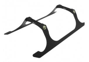 Blade 230 S V2 / 230 S - Aluminiowo - karbonowe podwozie czarne RKH