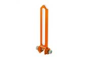 Blade 230 S - Aluminiowa prowadnica tarczy pomarańczowa RKH