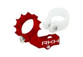 Blade Nano CP X / Nano CP S - Aluminiowe mocowanie silnika ogonowego czerowne RKH