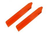 Blade Nano CP X / Nano CP S - Łopaty główne Hi-Performance 89 mm pomarańczowe RKH
