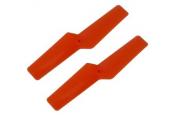 Blade Nano CP X / Nano CP S - Śmigło ogonowe 42 mm pomarańczowe RKH