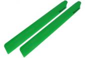 Blade 300 CFX / X - Łopaty główne 246 mm zielone RKH