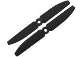 Blade 200 QX / Match 25 - Śmigła prawe + lewe 5030 Żółte RKH