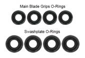 Blade 200 SR X - O-Ringi tarczy i okuć głównych RKH