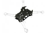 Blade Nano QX / Nano QX FPV - Aluminiowo - karbonowa rama główna 7 mm srebrna RKH