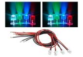 Blade 200 QX - 3 mm diody LED (niebieskie, zielone, czerwone, żółte) RKH