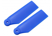 Blade 180 CFX - Łopatki ogonowe niebieskie RKH