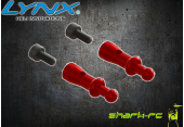 OXY 3 - Aluminiowe mocowanie kabiny czerwone LYNX
