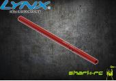 OXY 3 - Belka ogonowa wydłużona 285 czerwona LYNX
