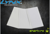 Rzepy do mocowania akumulatorów białe (12+10) LYNX