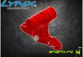 Blade 180 CFX - Aluminiowa głowica czerwona LYNX