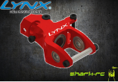 Blade 180 CFX - Aluminiowa skrzynia ogonowa czerwona LYNX