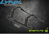 Blade 180 CFX - Aluminiowo-karbonowe podwozie czarne LYNX