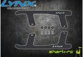 Blade 180 CFX - Karbonowe płozy podwozia styl 1 LYNX