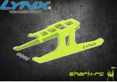 Blade 180 CFX - Elastyczne podwozie czarne LYNX