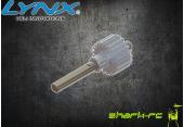 Blade 180 CFX - Aluminiowa zębatka, wał wirnika ogonowego LYNX