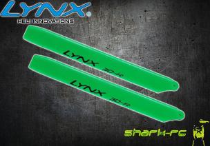 Blade 180 CFX - Łopaty główne 160 mm edycja pro zielone LYNX