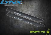 Blade 180 CFX - Karbonowo-plastikowe łopaty główne 160 mm edycja pro czarne LYNX