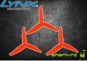 Blade 230 S / 200 SR X - Śmigła ogonowe pomarańczowe LYNX