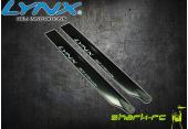 Blade 230 S - Karbonowo-plastikowe łopaty główne 235 mm czarne LYNX