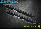 Blade 180 CFX - Łopaty główne 160 mm edycja pro białe LYNX