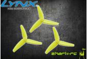 Blade mCP X BL - Potrójne śmigło ogonowe żółte LYNX (3)