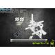 Blade Nano CP X - Aluminiowa Rama główna z podporami srebrna RKH