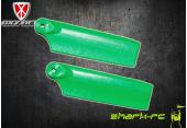 OXY 3 - Łopatki ogonowe 50 mm zielone
