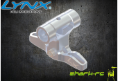 Blade 180 CFX - Aluminiowa głowica srebrna LYNX