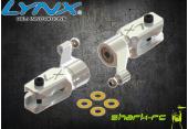 Blade 180 CFX - Aluminiowe okucia główne LYNX