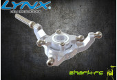 Blade 180 CFX - Aluminiowa tarcza sterująca srebrna LYNX