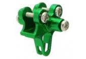 Blade 130 X - Aluminiowe mocowanie podpór ogonowych zielone RKH