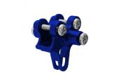 Blade 130 X - Aluminiowe mocowanie podpór ogonowych niebieskie RKH