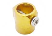 Blade 130 X - Aluminiowy pierścień wału głównego złoty RKH