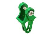 Blade 130 X - Aluminiowa prowadnica popychacza ogonowego zielona RKH